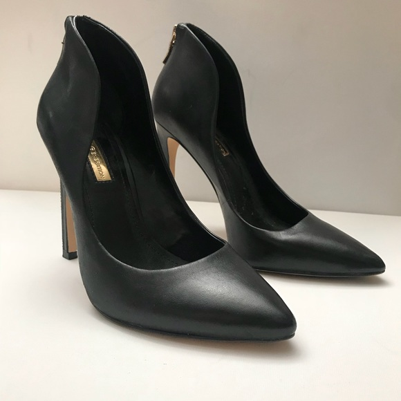 7d6fe74b2d97 BCBGeneration Conrad High Heel Cut Out Pump Black.  M 5ac2e1835521be3c30e57137